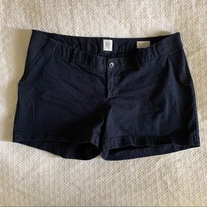 GAP Maternity Navy Shorts - Side Panel